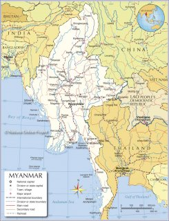 Golden Land - Myanmar 500
