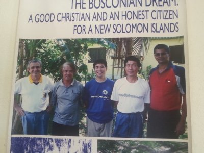 Don Bosco - Solomon Islands going  20 years old!